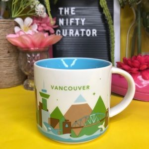 Vancouver You Are Here Starbucks Mugs